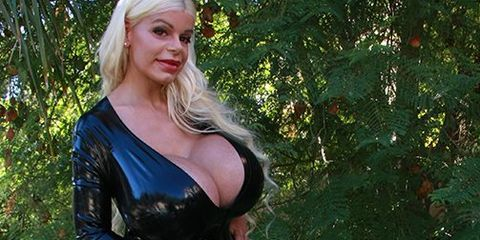 f96b58d75 The Woman With the Largest Breast Implants in Europe Now Wants to Bump Up  Her Butt