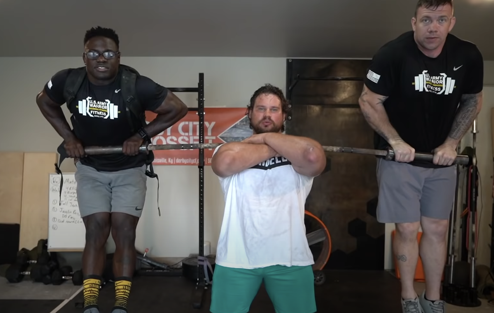 Watch Martins Licis Take on a CrossFit Challenge from Chandler Smith