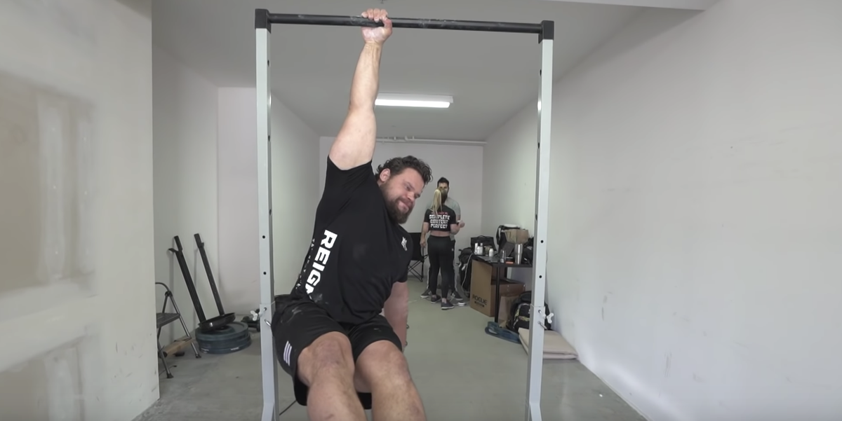 The World's Strongest Man Shows How He Trains By Just Hanging Out