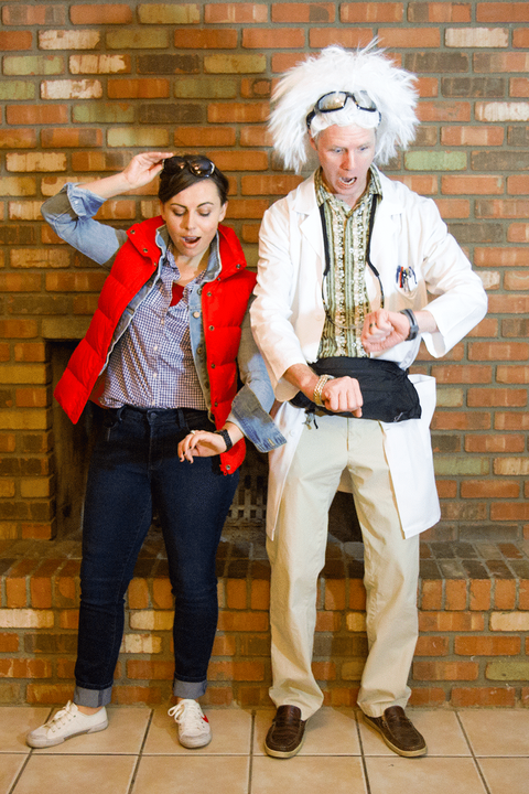 marty mcfly and doc halloween couples costume