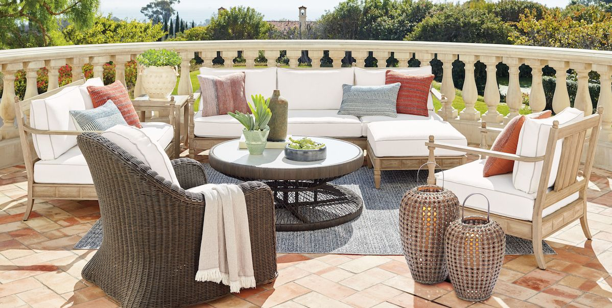 Martyn Lawrence Bullard on His Outdoor Furniture Line at Frontgate