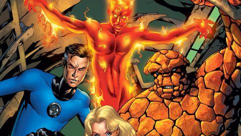 Fictional character, Fantastic four, Superhero, Fiction, Comics, Hero, Thing, Supervillain, Human Torch, Cg artwork,