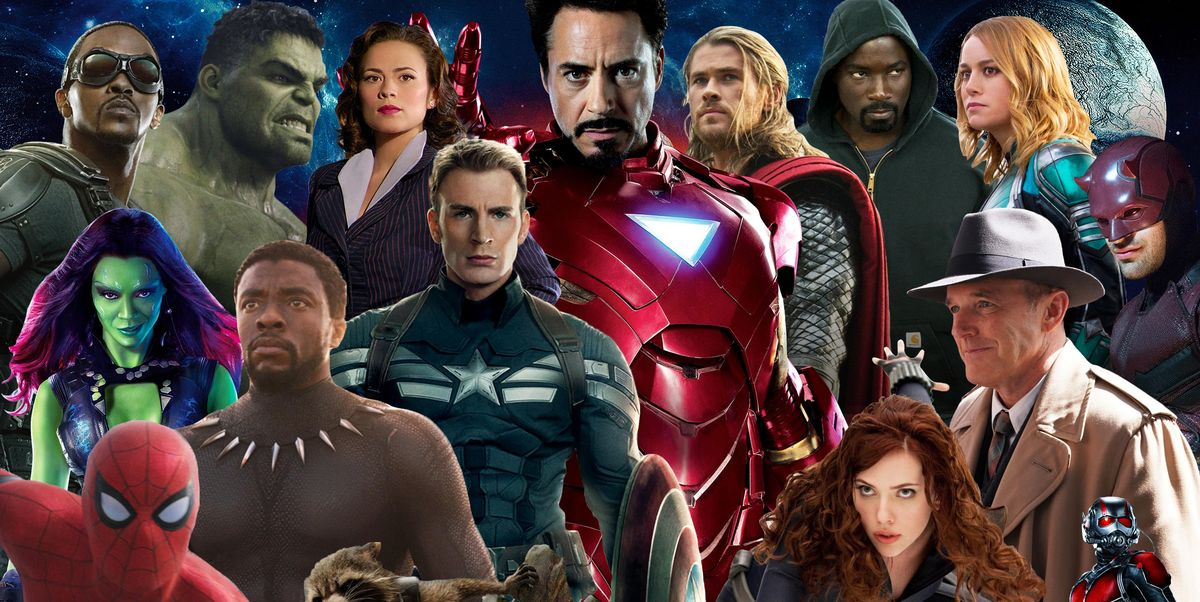 Mcu In Order Marvel Cinematic Universe In Chronological Order