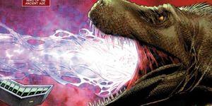 Dinosaurio, héroe de Marvel