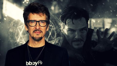 Eyewear, Cool, Glasses, Photography, Facial hair, Beard, Space, Fictional character, Darkness, Vision care,