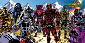 Marvel eternals pelicula comics