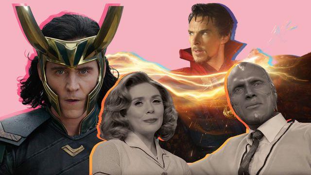 loki, doctor extraño, la bruja escarlata y la visión, cuatro personajes de marvel que jugarán un papel clave en la fase cuatro del mcu conformando un nuevo multiverso