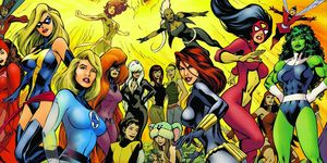 Marvel superheroinas