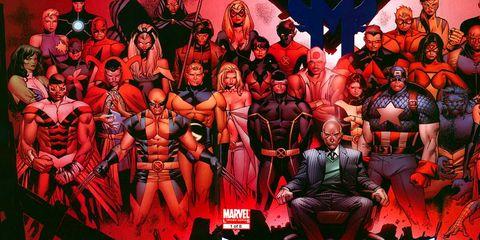 Marvel X-Men Dinastía de M