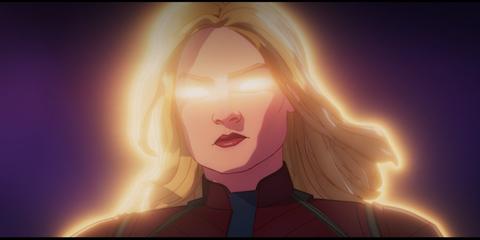 Captain Marvel In Disney+'s What If...?
