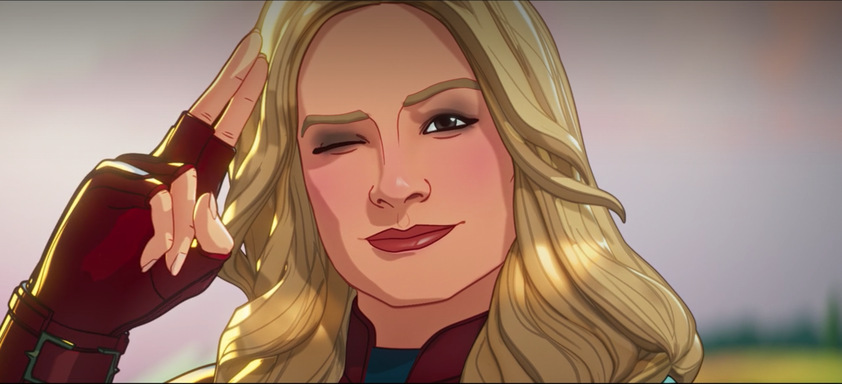 Captain Marvel in What If