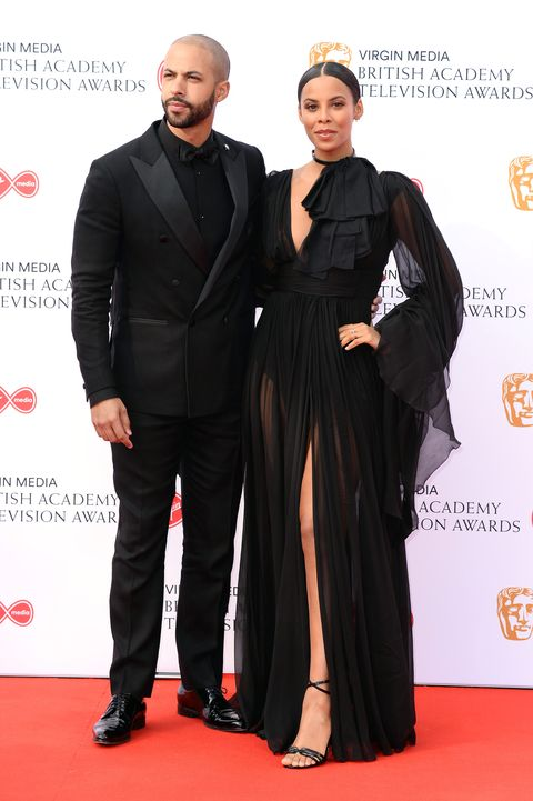 marvin humes, rochelle humes, bafta awards 2019