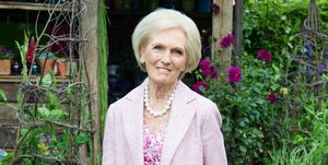 Mary Berry attends RHS Chelsea Flower Show press day 2017