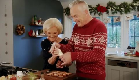 Mary Berrys Christmas Party Was The Bake Off Star At Her