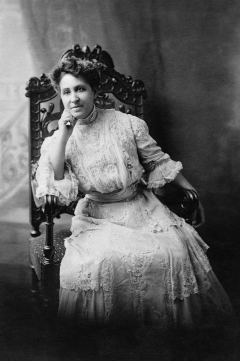 mary church terrell, 1863 1954, one of the first african american women to earn a college degree, national activist for civil rights and suffrage, seated portrait