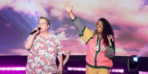 Mary Halsey and Missy Elliott on Ellen show