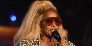Mary J. Blige performs onstage during the 2019 ESSENCE Festival at Louisiana Superdome on July 6, 2019