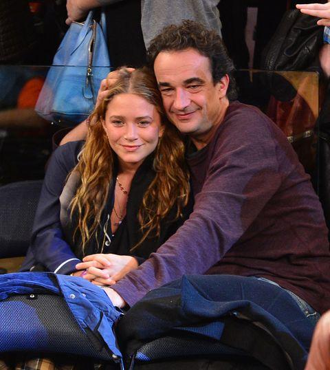 celebrities attend the dallas mavericks vs the new york knicks game