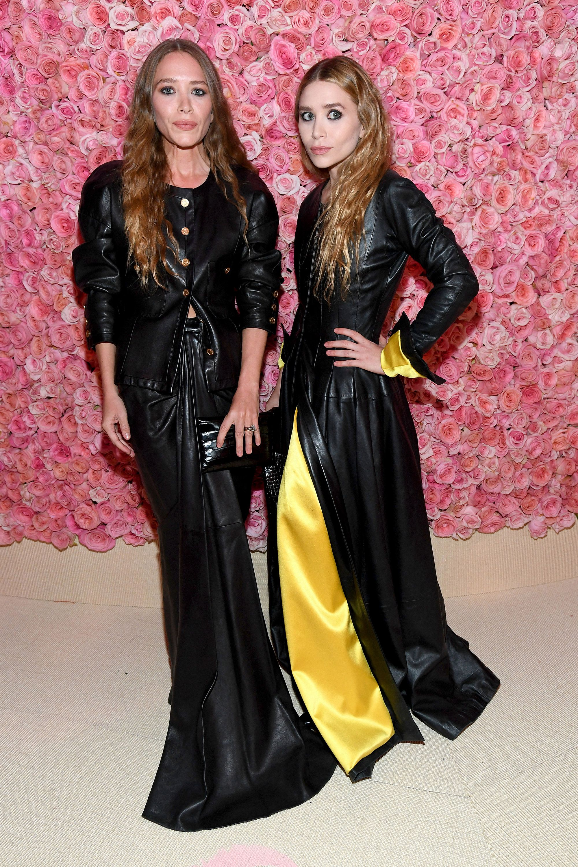 Mary-Kate and Ashley Olsen The world's most famous twins always attend the Met Gala together.