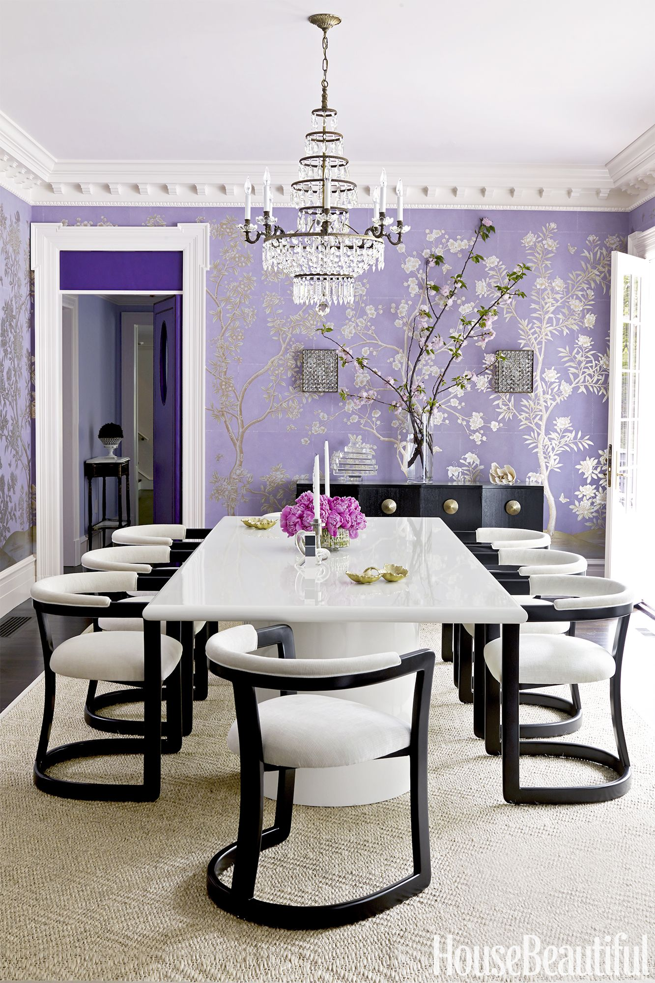 20 Best Purple Rooms and Decor - Lavender, Lilac and Violet ...