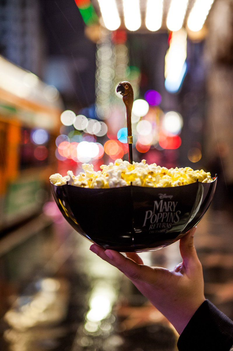 El Capitan S Mary Poppins Returns Vip Screening Package Comes With The Best Popcorn Buckets