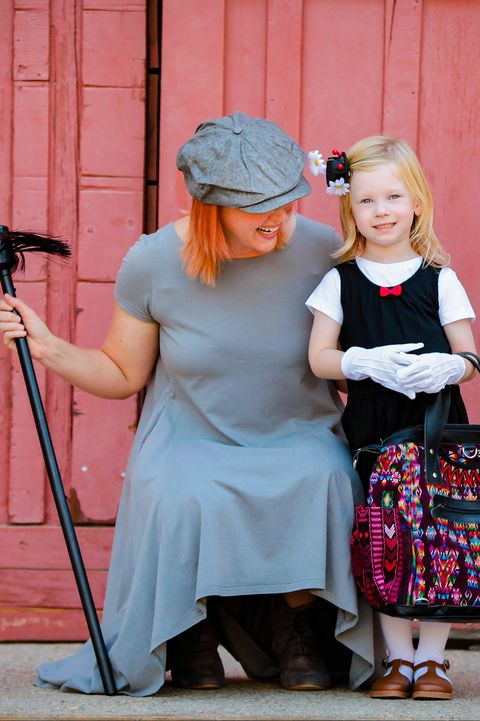 mary poppins mother daughter costume