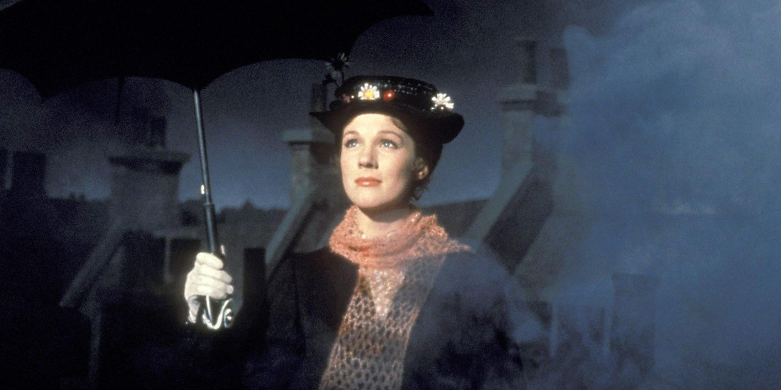 Mary Poppins paraguas
