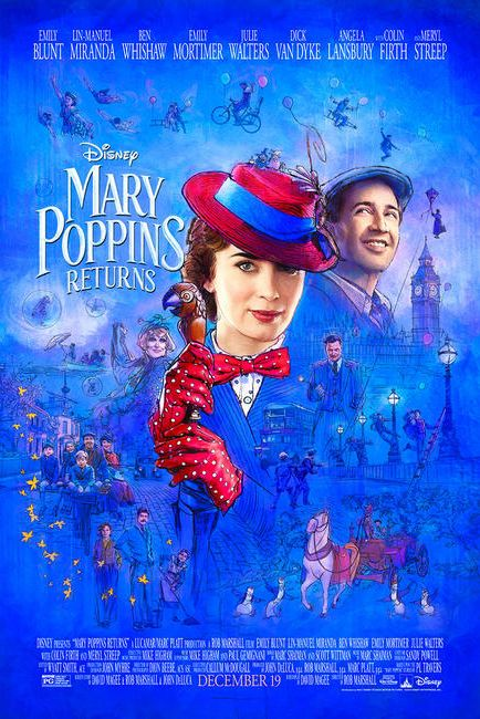 mary poppins returns - christmas movies 2018