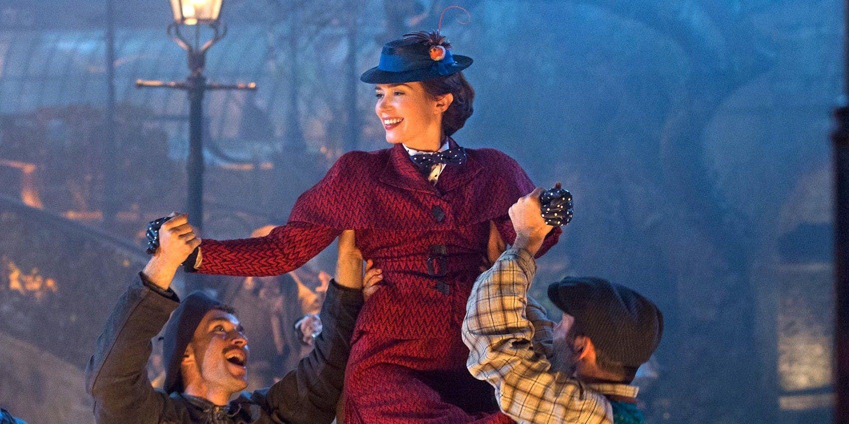 mary poppins returns emily blunt julie andrews