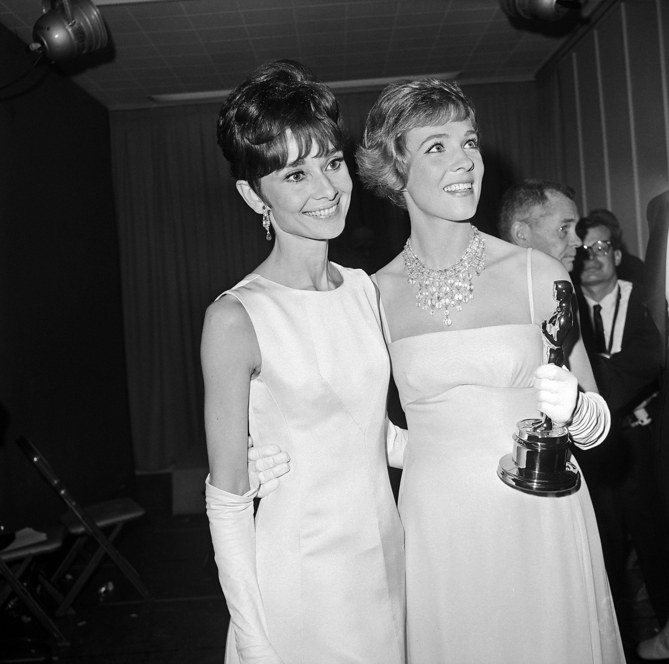 Audrey Hepburn y Julie Andrews