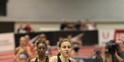 Mary Cain at 2014 USA Indoors 2