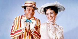 Julie Andrews y Dick Van Dyke