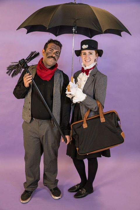 mary poppins diy costume, book character costumes