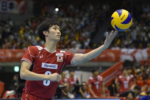 France v Japan - Men's World Olympic Qualification Tournament柳田将洋