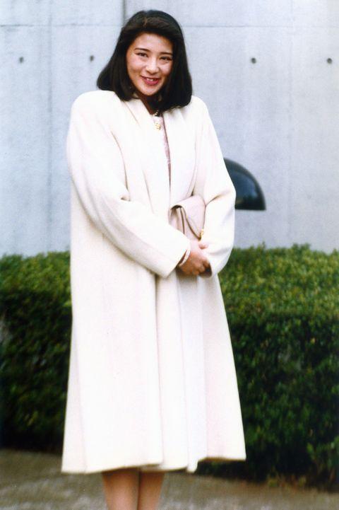 masako owada, prince naruhito's fiance in japan on january 08, 1992