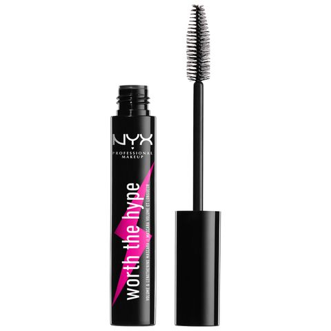 nyx mascara zwart makeup wimpers