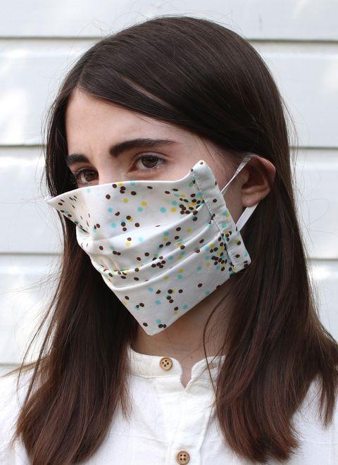 mascarilla de algodón orgánico