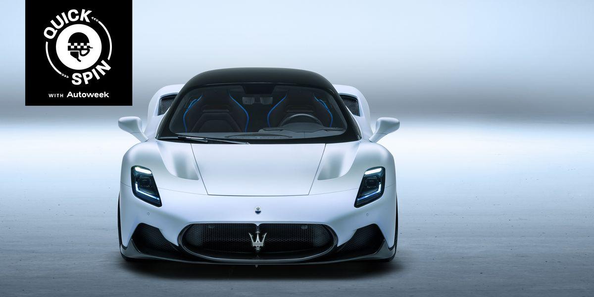 Tag Along While We Review the 2022 Maserati MC20