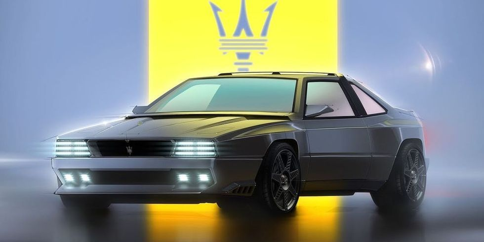 Maserati's Project Rekall Is a Trippy Nineties Throwback Concept