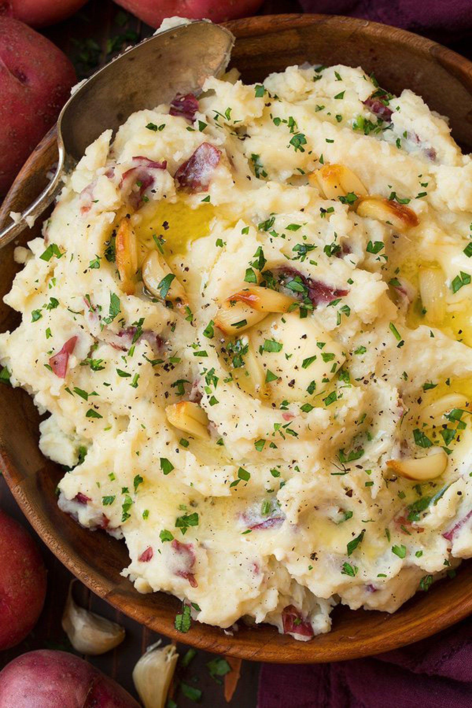 mashed potatoes recipes garlic