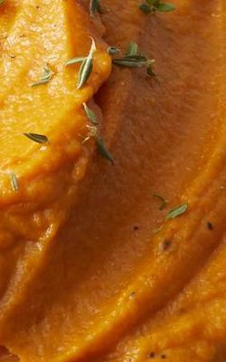 Mashed Sweet Potato and Carrots