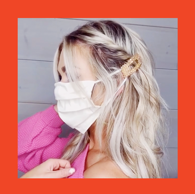 face mask hairstyles