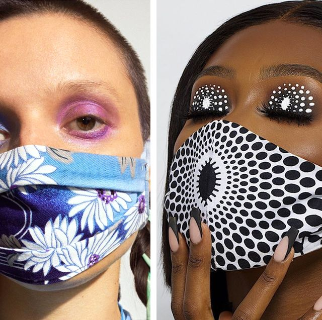 mask and makeup trend