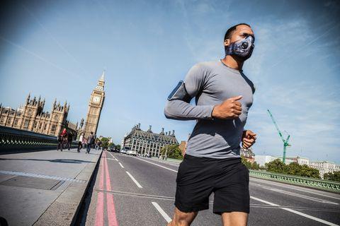 pollution running