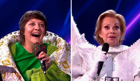 eva hache y paloma san basilio eran angel y cactus en mask singer 2