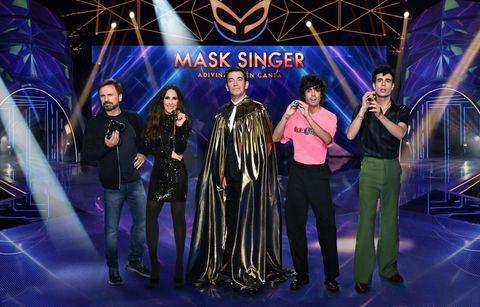 arturo valls y el jurado de 'mask singer'