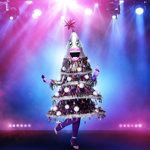 who is the tree on masked singer
