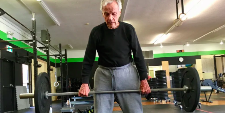 Watch This 96-Year-Old Man Crush a CrossFit Workout to Celebrate His Birthday