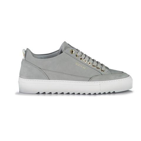mason garments tia sneaker van nubuck grijs schoenen sneakers mannen heren