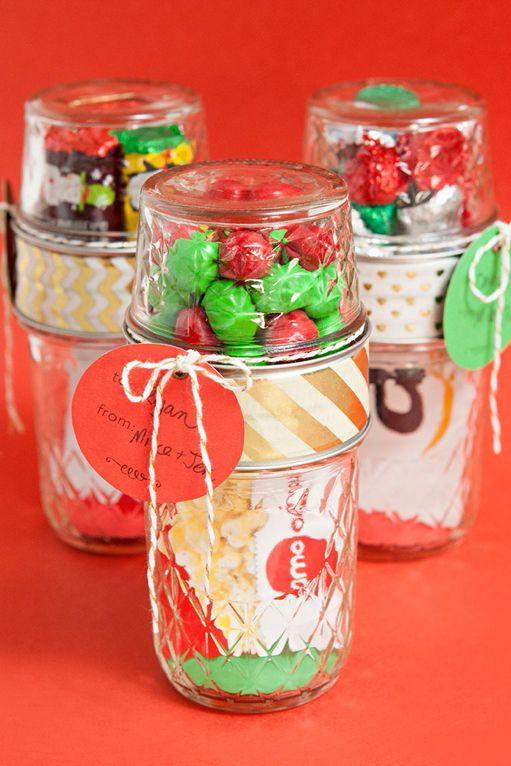 Christmas gift mason jar ideas